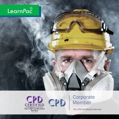 Fire Safety Training Course - Online Training Course - CPD Accredited - LearnPac Systems UK -