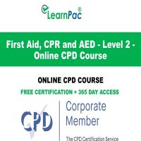First Aid, CPR and AED - Level 2 - Online CPD Course - LearnPac Online Training Courses UK –