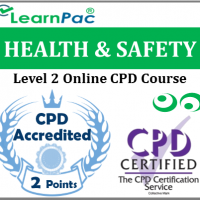 Health and Safety Training - Level 2 - Online CPD Accredited Health & Safety Training Course - Health & Safety Executive (HSE) Compliant E-Learning Course - LearnPac Systems UK -