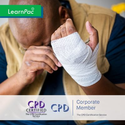 Health and Safety at Work - Online Training Course - CPD Accredited - LearnPac Systems UK -