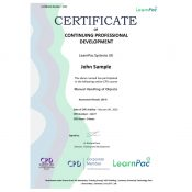 Manual Handling of Objects - Online Training Course - CPD Certified - LearnPac Systems UK -