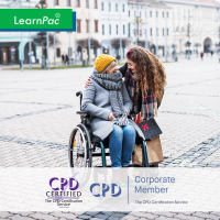 Mental Health, Dementia and Learning Disabilities - Online Training Course - CPD Accredited - LearnPac Systems UK -
