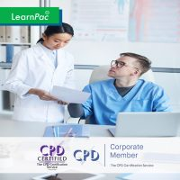 Mandatory Training for GP Practice Nurses - Online Training Course - CPD Accredited - LearnPac Systems UK -