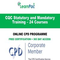CQC Statutory and Mandatory Training – 24 Courses - LearnPac Online Training Courses UK -