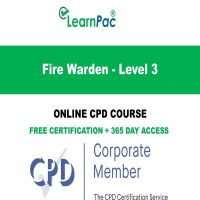 Fire Warden - Level 3 - LearnPac Online Training Courses UK -