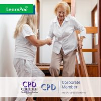Mandatory Training for Domiciliary Care Staff - Online Training Course - CPD Accredited - LearnPac Systems UK -