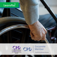 Motor Neurone Disease Awareness - Online Training Course - CPD Accredited - LearnPac Systems UK -