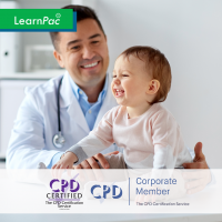 Paediatric First Aid - Online Training Course - CPD Accredited - LearnPac Systems UK -