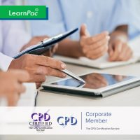 Statutory and Mandatory Training Courses for Health and Social Care - Online Training Course - CPD Accredited - LearnPac Systems UK -