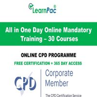 All in One Day Online Mandatory Training - LearnPac Online Training Courses UK -