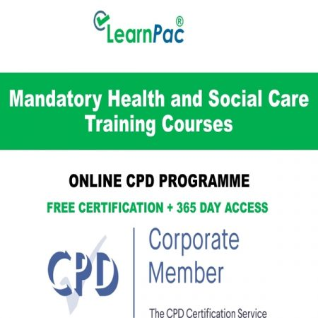 Mandatory Health and Social Care Training Courses - LearnPac Online Training Courses UK -