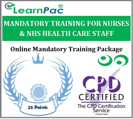Mandatory Training Courses for Nurses and NHS Health Care Staff - LearnPac Systems UK -