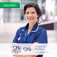 Mandatory Training Courses for Nurses and NHS Health Care Staff - Online Training Course - CPD Accredited - LearnPac Systems UK -