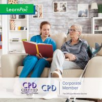 Mandatory Training Health and Social Care Courses - Online Training Course - CPD Accredited - LearnPac Systems UK -