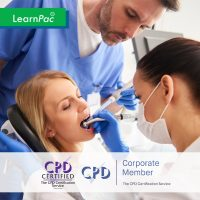Mandatory Training for Dental Nurses - Online Training Course - CPD Accredited - LearnPac Systems UK -