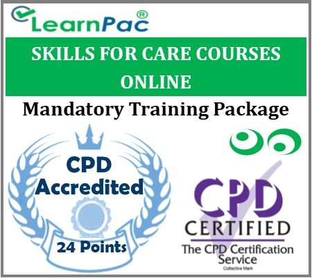 Skills for Care Mandatory Training Courses – Skills for Care Aligned E-Learning - LearnPac Systems UK -