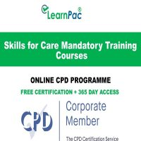 Skills for Care Mandatory Training Courses -