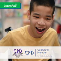 Cerebral Palsy - Online Training Course - CPD Accredited - LearnPac Systems UK -