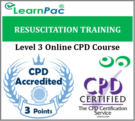 Resuscitation Training Level 3 - Immediate Life Support - Online Training Course - LearnPac Systems UK -