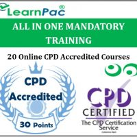 All in One Mandatory Training - 20 CPD Accredited & UK CSTF Aligned E-Learning Courses - MTG -