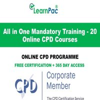 All in One Mandatory Training - 20 Online CPD Courses - LearnPac Online Training Courses UK -