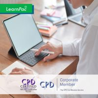 All in One Mandatory Training - Online Training Course - CPD Accredited - LearnPac Systems UK -