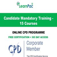 Candidate Mandatory Training - 15 Courses - LearnPac Online Training Courses UK -