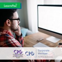 E-Learning Mandatory - Online Training Course - CPD Accredited - LearnPac Systems UK -