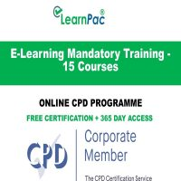 E-Learning Mandatory Training - 15 Courses - LearnPac Online Training Courses UK -