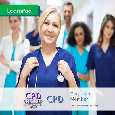 Mandatory Health Care Training Courses - Online Training Course - CPD Accredited - LearnPac Systems UK -