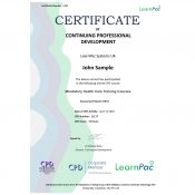 Mandatory Health Care Training Courses - Online Training Course - CPD Certified - LearnPac Systems UK -