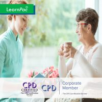 Mandatory Health Care Training - Online Training Course - CPD Accredited - LearnPac Systems UK -