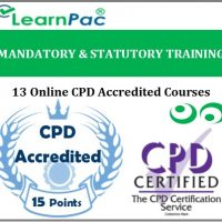 Mandatory & Statutory Training - 13 CPD Accredited Online Training Courses -