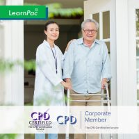 Mandatory Training Courses for Nursing Homes and Care Home Staff - Online Training Course - CPD Accredited - LearnPac Systems UK -