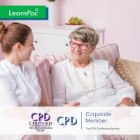 Mandatory Training for Care Home and Care Staff - Online Training Course - CPD Accredited - LearnPac Systems UK -
