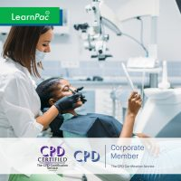 Mandatory Training for Dental Technicians - Online Training Course - CPD Accredited - LearnPac Systems UK -