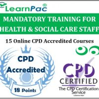 Mandatory Training for Health & Social Care Staff (15 Online CPD Courses) - CQC Compliant -