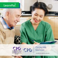 Mandatory Training for Health and Social Care Workers - Online Training Course - CPD Accredited - LearnPac Systems UK -