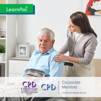 Mandatory Training for Residential Care Home Workers - Online Training Course - CPD Accredited - LearnPac Systems UK -