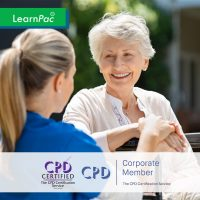Mandatory Training for Residential Home Staff - Online Training Course - CPD Accredited - LearnPac Systems UK -