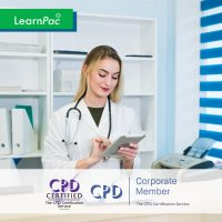 Non-Clinical Mandatory Healthcare Training Courses - Online Training Course - CPD Accredited - LearnPac Systems UK -