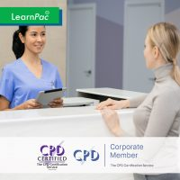Non-Clinical Statutory and Mandatory Training Courses - Online Training Course - CPD Accredited - LearnPac Systems UK -
