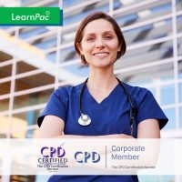 Online Mandatory Health Care Training Courses - Online Training Course - CPD Accredited - LearnPac Systems UK -