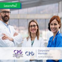 Online Mandatory Training Courses - Online Training Course - CPD Accredited - LearnPac Systems UK -