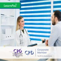 Online Non-Clinical Mandatory Training and Statutory Training - Online Training Course - CPD Accredited - LearnPac Systems UK -