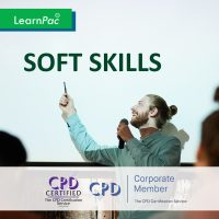 10 Soft Skills - Online Training Course - CPD Accredited - LearnPac Systems UK -