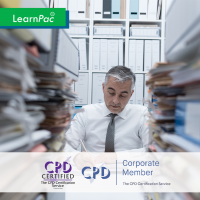 Administrative Office Procedures - Online Training Course - CPD Accredited - LearnPac Systems UK -