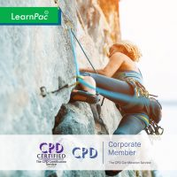Adult Learning – Physical Skills Training - Online Training Course - CPD Accredited - LearnPac Systems UK -