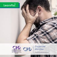 Anger Management - Online Training Course - CPD Accredited - LearnPac Systems UK -