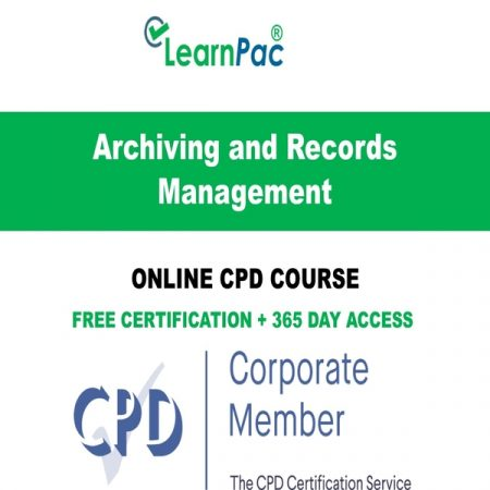 Archiving and Records Management - LearnPac Online Training Courses UK –